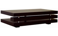 Baxton Studio Wenge Oak Veneer Coffee Table