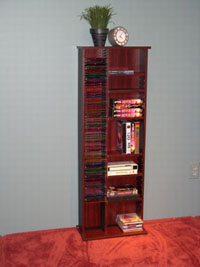 4D Concepts Cherry CD Storage Unit