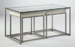 Johnston Cubic Nesting Cocktail Table with Benches
