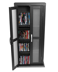"Walker Edison 41"" Wood DVD Tower"