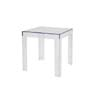 Baxton Studio Parq Clear Acrylic Modern End Table